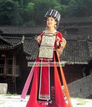 Traditionl Chinese Festival Celebration Stage Performance Dance Costumes