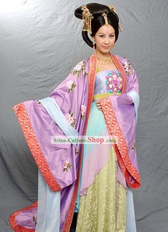 Chinese Imperial Concubine Clothing Complete Set