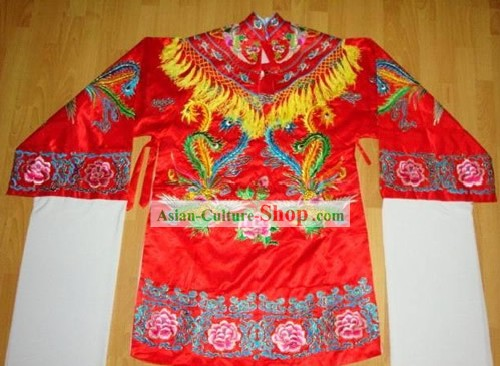 China Beijing Opera Embroidered Phoenix Robe