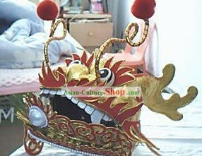 Chinese Dragon Head Crown