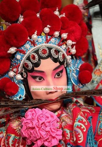 Chinese Handmade Peking Opera Hat