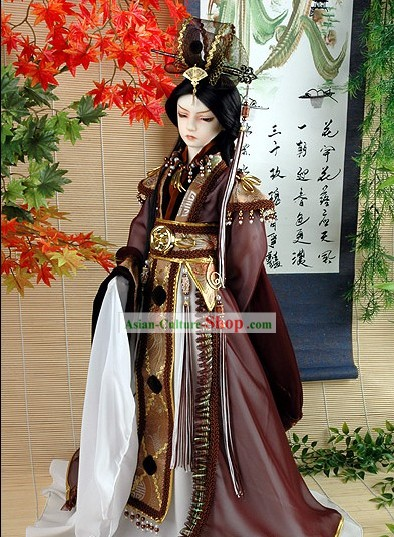 Ancient Chinese Prince Cosplay Costume Complete Set
