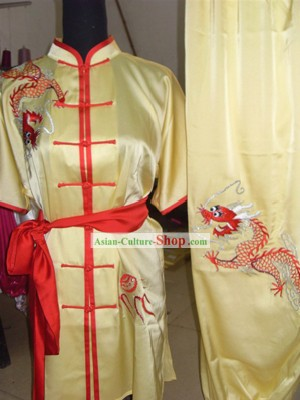 Chinese Traditional Wushu Uniform and Belt