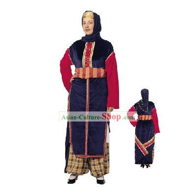 Cappadokian Female Traditional Greek Dance Costume