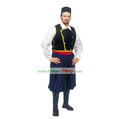 Cefalonia Male Traditional Greek Dance Costume