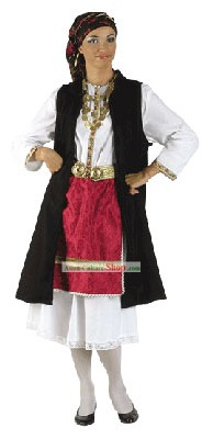 Costume traditionnel de danse grecque