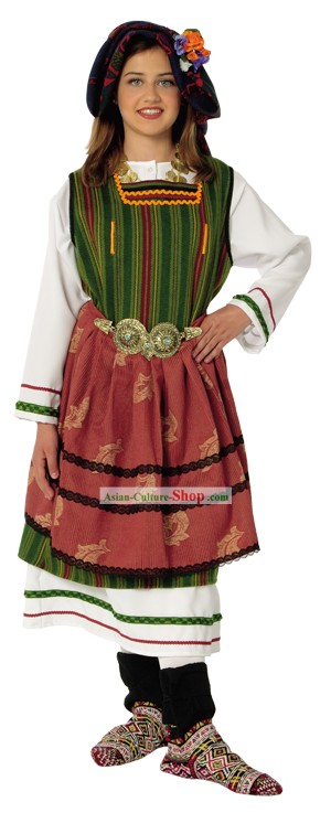 Metaxades weiblich Traditional Dance Kostüm