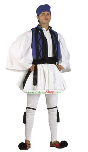 Roumeli Homme Costume Traditionnel danse grecque