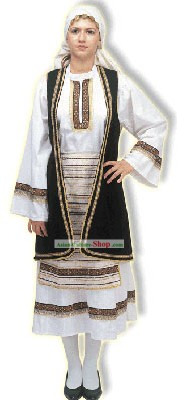 Souliotissa Female Traditional Greek Costume
