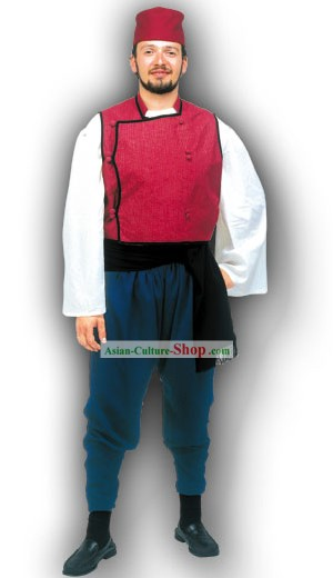 Thrace Male Traditional Greek Dance Costume