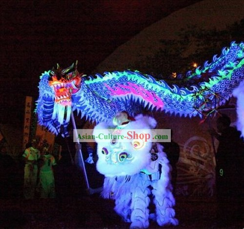 Luminous Traditional Dragon Dance Costume Complete Set