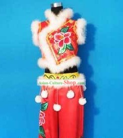 Chinese Fan Dance Costumes