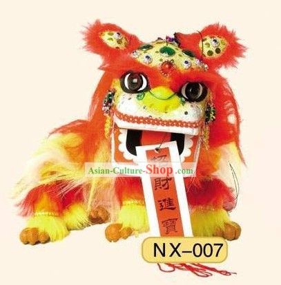 Happy Festival Celebration Lion Dance Puppet Toy