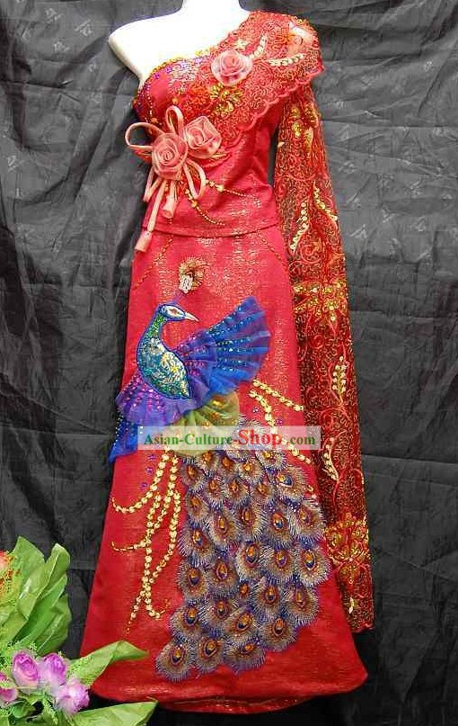 Traditional Thailand Wedding Dress for Women