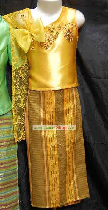 Asia Thai Clothing Complete Set for Children