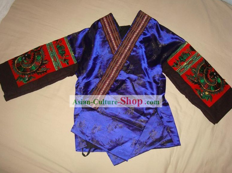 Chinese Minority Embroidery Blouse