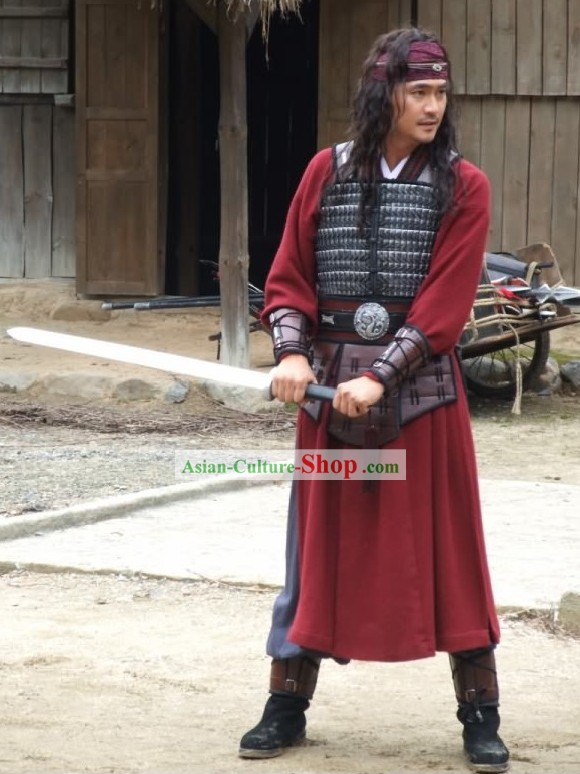 Ancient Korean Swordsman Costumes Complete Set