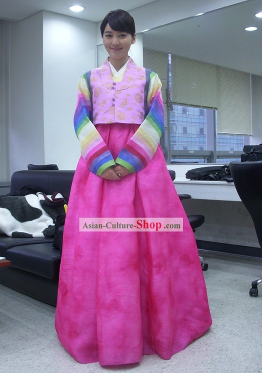 Traditional Korean Hanbok for Girls