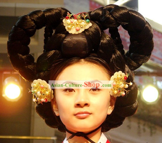 Traditional Korean Palace Princess Wig Set
