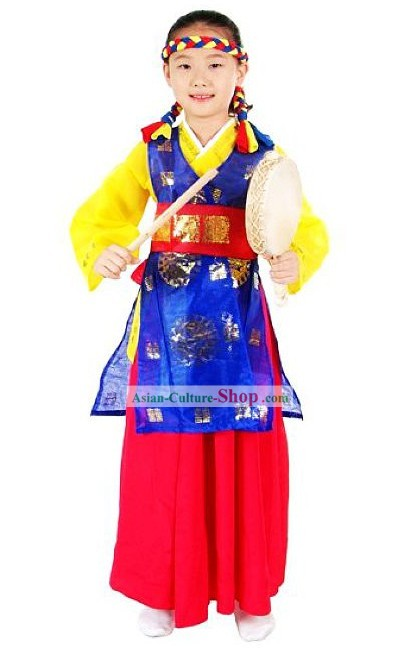 Ancient Korean Dance Costumes Set