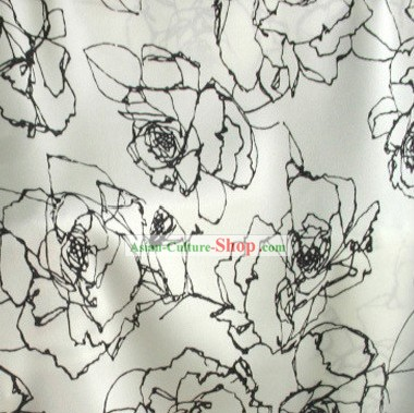 Classical Rose Silk Fabric
