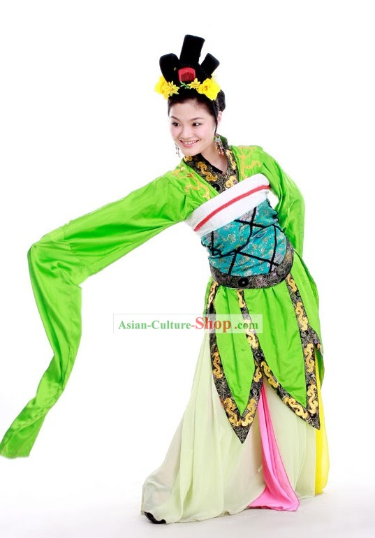 Ancient Water Sleeve Palace Dance Ta Ge Costume