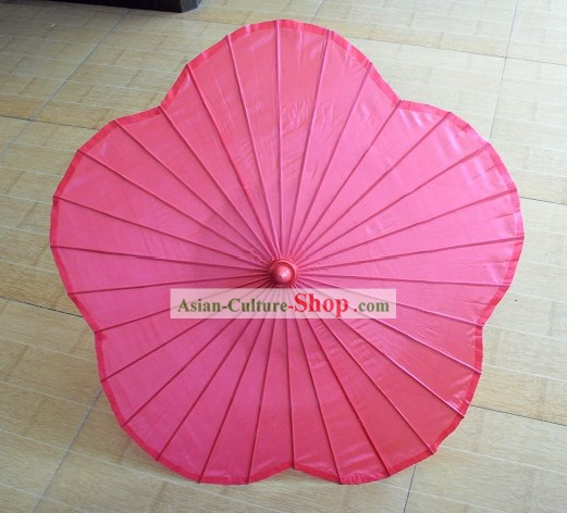 Chinese Flower Shape Dance Umbrella