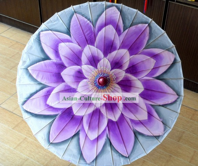 Chinese Dancing Flower Umbrella