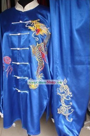 Chinese Kung Fu Master Dragon Uniform for Men