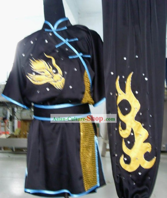 Changquan Long Fist Kung Fu Clothing Complete Set