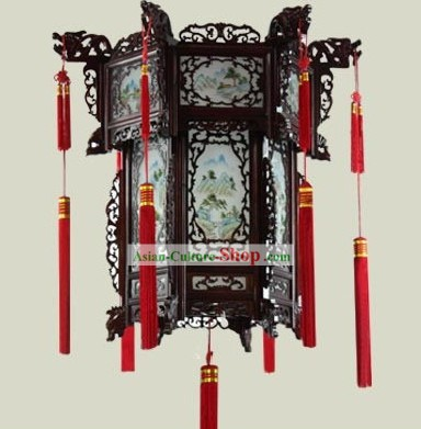 Chinese Classical Wooden Palace Lantern