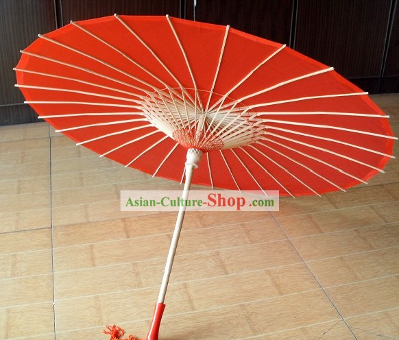 Traditional Chinese Lucky Red Wedding Umbrella