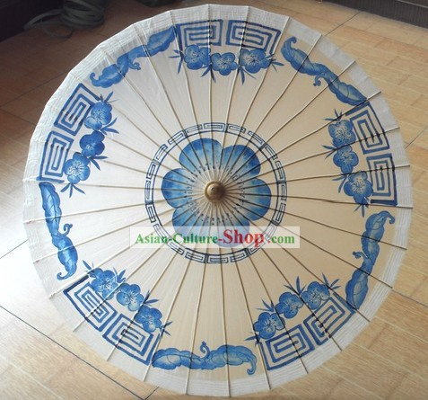 Chinese Traditional Original Painting Umbrella Collectible