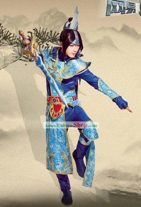 Chinese Classic Swordsman Costumes Complete Set