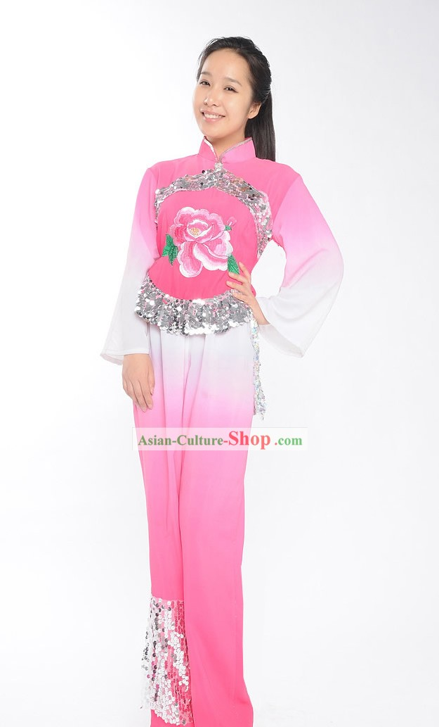 Traditional Chinese Folk Dance Costume for Women