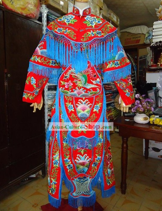 Peking Opera Dao Ma Dan Armor Costume for Women