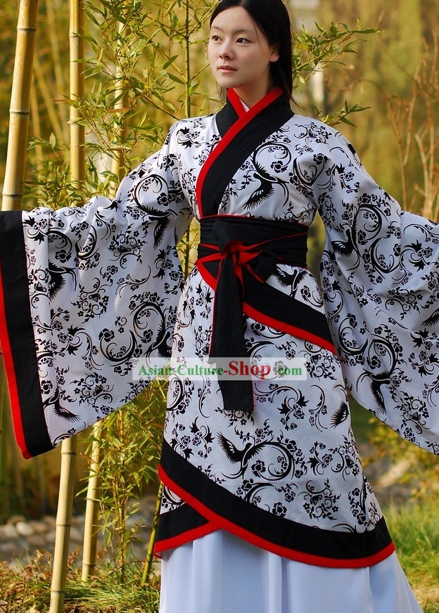 Ancient Chinese Palace Empress Phoenix Hanfu