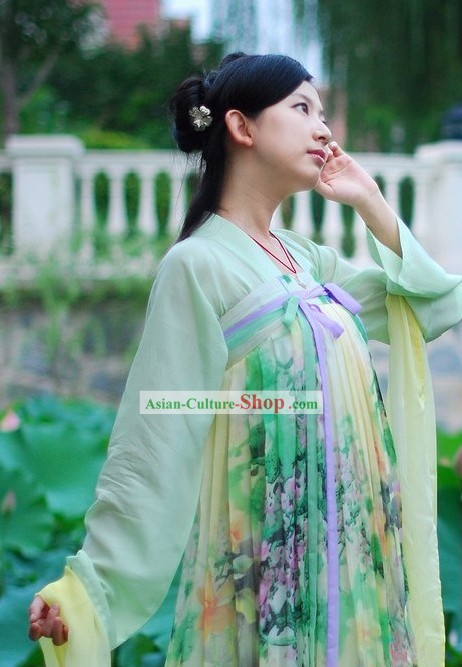 Ancient Chinese Tang Dynasty Princess Complete Set for Women