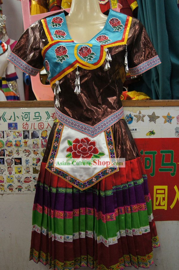 Traditional Chinese Minority Clothing