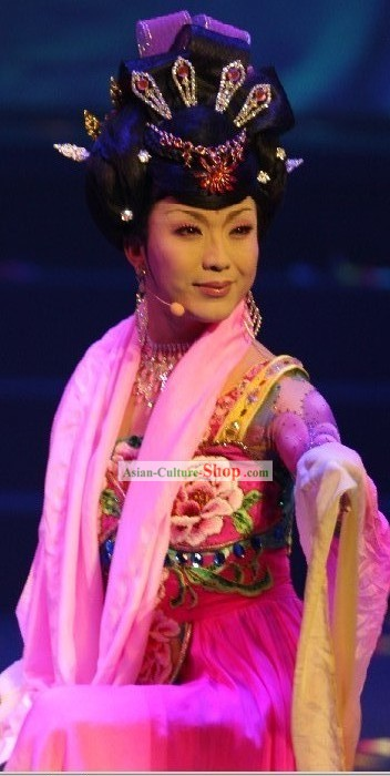 Li Yugang Style Wig and Hair Accessories