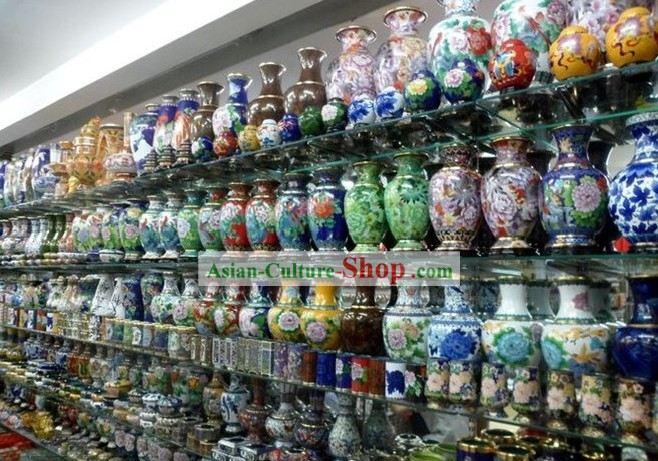 Chinese Classic Cloisonne Arts