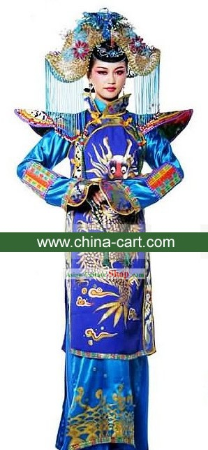 Ancient Chinese Princess Costumes and Headpiece