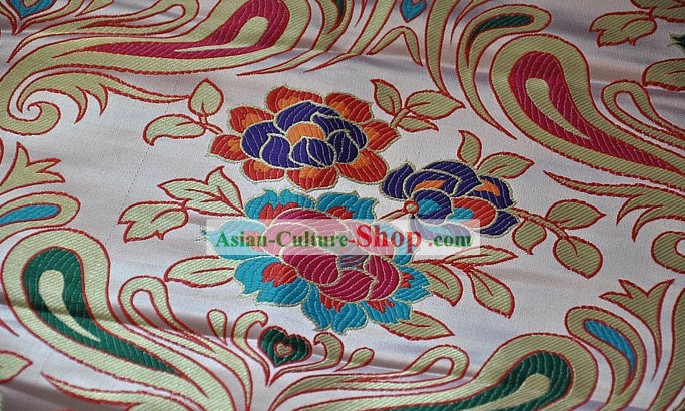 Traditional Chinese Tibetan Brocade Fabric