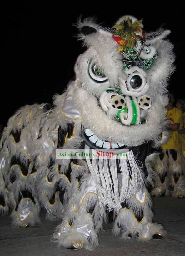 Supreme Chinese Classic Happy Ceremony Lion Dance Costume Complete Set