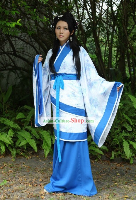 Ancient Chinese Lady Clothing Complete Set