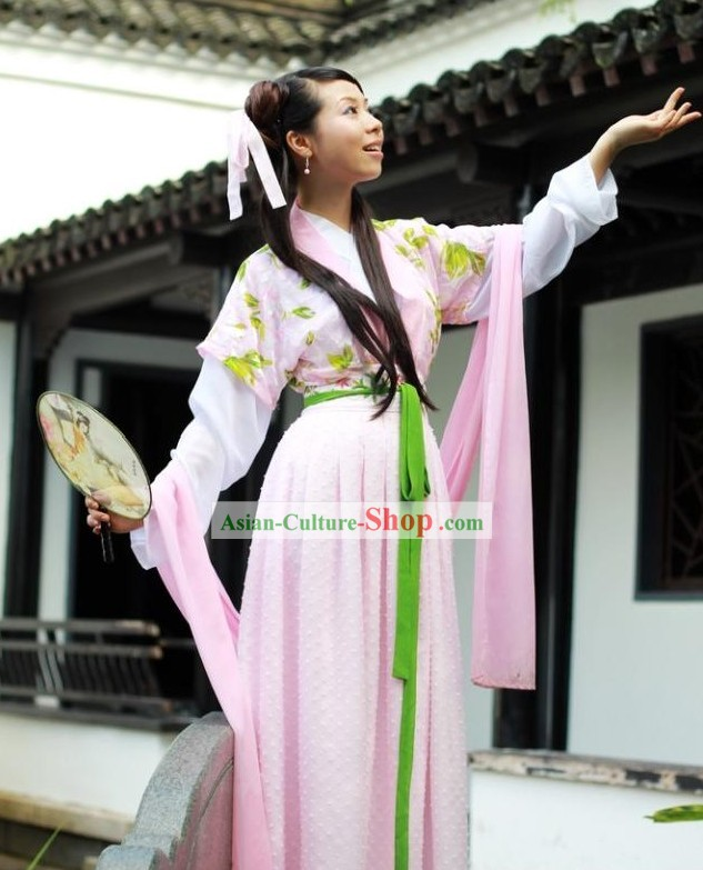 Ancient Chinese Imperial Maid Costume Complete Set