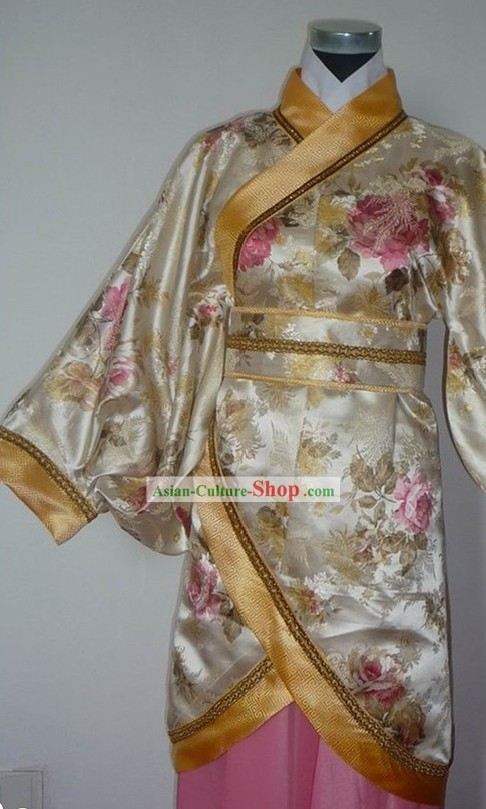 Traditional Chinese Quju Clothing Complete Set for Children