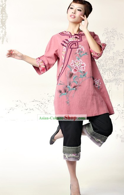 Chinese Minguo Time Tang Suit for Women