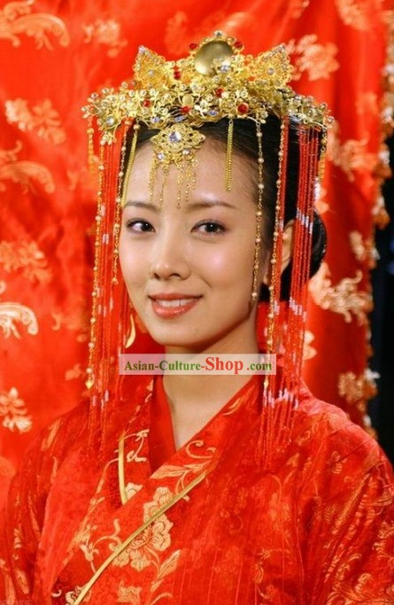 Ancient China Women's Bridal Wedding Hair Jewelry