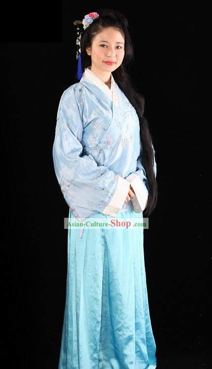 Ming Dynasty Women Clothing Complete Set